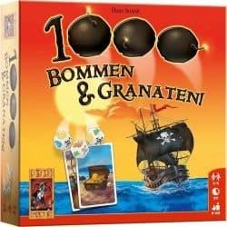 1000 Bommen & Granaten! Dobbelspel 999 Games