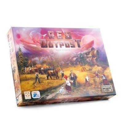 Red Outpost Bordspel Happy Meeple Games
