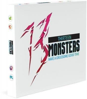 13 Monsters bordspel
