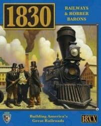 1830: Railways & Robber Barons spel doos box Spellenbunker.nl