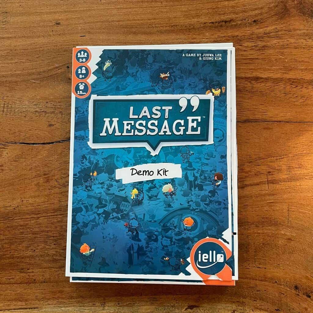 Demo Kit Last Message - Iello