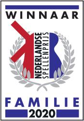 Winnaar Nederlandse Spellenprijs 2020 Familieprijs