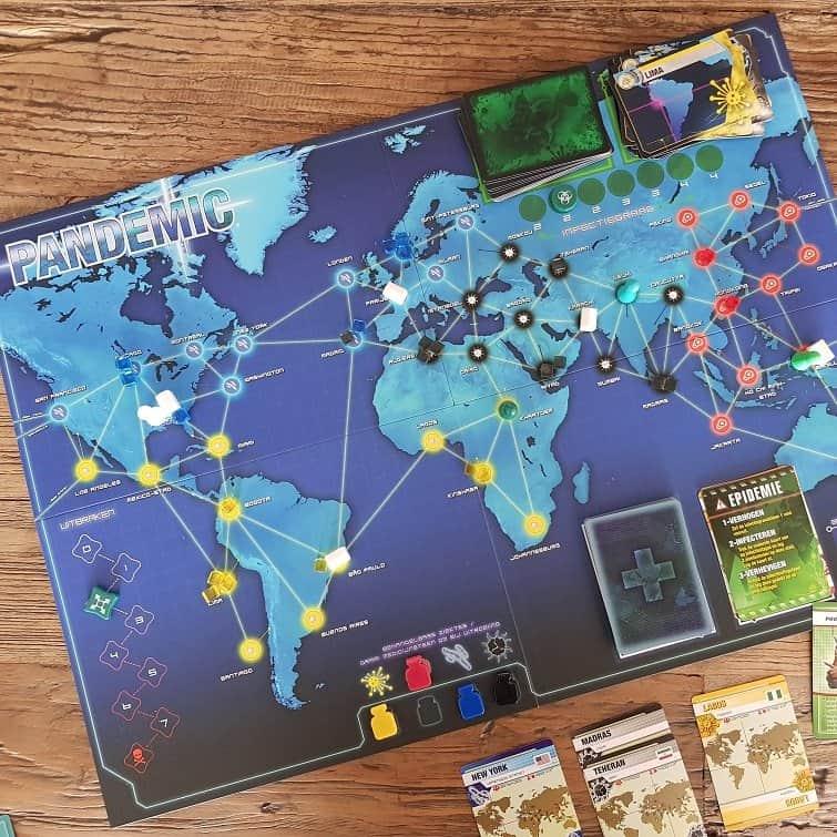 Pandemic Z-Man Games Asmodee Bordspel Pandemie