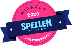 Spellenbunker Spel van het Jaar 2020 2-Persoonsspellen