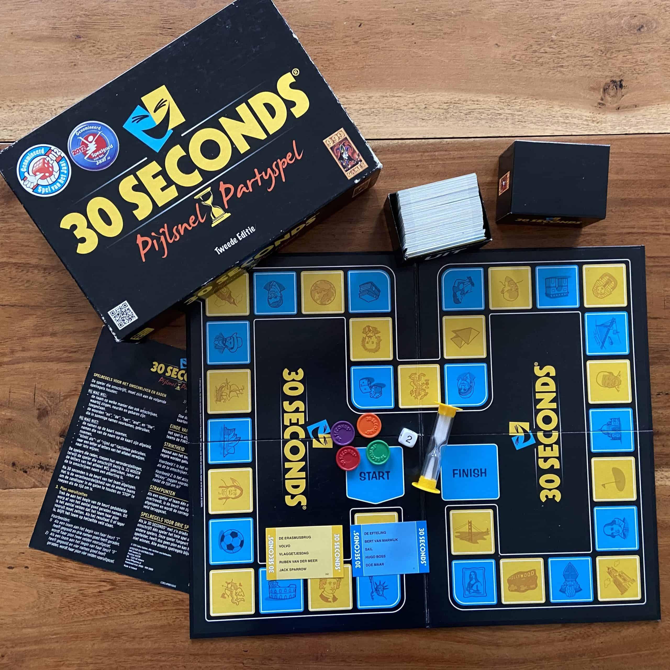 30 Seconds Partyspel van 999 Games