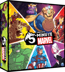 5-Minute Marvel Kaartspel