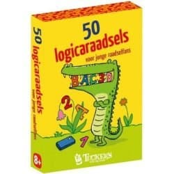 50 Logicaraadsels Tucker's Fun Factory Kaartspel Kinderspel