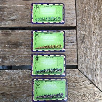 Blast white goblin games 2-persoons kaartspel team arlin slagenspel science fiction