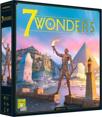 7 Wonders Bordspel Tweede Editie Repos Asmodee