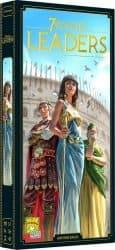 7 Wonders Leaders Bordspel Uitbreiding Tweede Editie Repos Asmodee