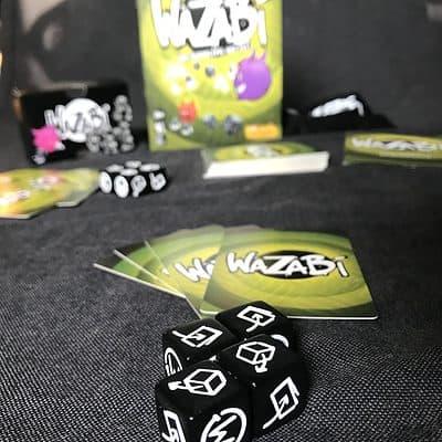 wazabi geronimo kaartspel dobbelspel familiespel team arlin