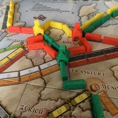Ticket To Ride Europe Asmodee Days of Wonder