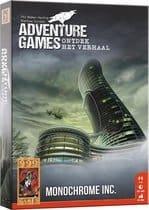 Adventure Games - Monochrome Inc. Bordspel