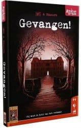 Adventures By Book - Gevangen! Bordspel Kaartspel Boek
