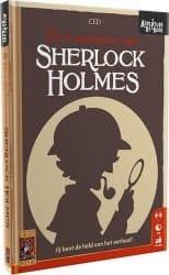 Adventures By Book - Sherlock Holmes De 4 Mysteries van Bordspel Kaartspel Strip Comic Boek