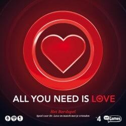 All You Need Is Love spel doos box Spellenbunker.nl