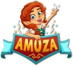 Amuza Games Logo by Game Brewer Uitgever Bordspellen