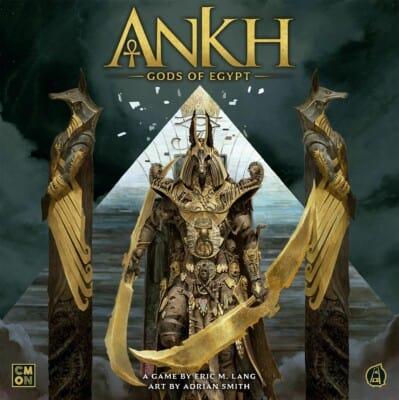 Ankh: Gods of Egypt spel doos box Spellenbunker.nl