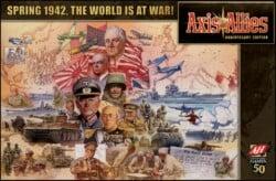 Axis & Allies Anniversary Edition spel doos box Spellenbunker.nl