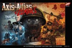 Axis & Allies & Zombies spel doos box Spellenbunker.nl