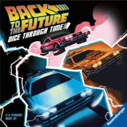 Back to the Future: Dice Through Time spel doos box Spellenbunker.nl