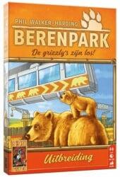 Berenpark- De grizzly's zijn los! 999 Games Bordspel Uitbreiding