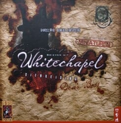 Brieven uit Whitechapel- Uitbreiding Dear Boss Uitbreidinjg Bordspel 999 Games
