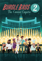 Burgle Bros 2: The Casino Capers spel doos box Spellenbunker.nl