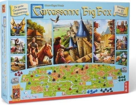 Carcassonne - Big Box Bordspel