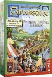Carcassonne - Bruggen, Burchten en Bazaars Bordspel Uitbreiding