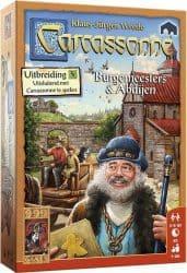 Carcassonne - Burgemeesters en Abdijen - Bordspel Uitbreiding