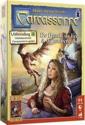 Carcassonne - De Draak, de Fee en de Jonkvrouw Bordspel Uitbreiding