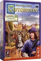 Carcassonne - Graaf, Koning en Consorten Bordspel Uitbreiding