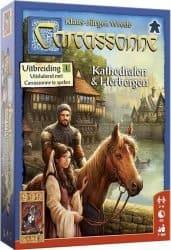 Carcassonne - Kathedralen & Herbergen Bordspel Uitbreiding
