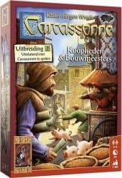 Carcassonne - Kooplieden & Bouwmeesters Bordspel Uitbreiding