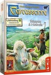 Carcassonne - Schapen & Heuvels Bordspel Uitbreiding