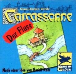 Carcassonne: The River spel doos box Spellenbunker.nl