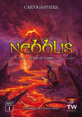 Cartographers Map Pack 1: Nebblis – Plane of Flame spel doos box Spellenbunker.nl