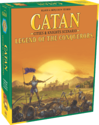 Catan: Cities & Knights – Legend of the Conquerors spel doos box Spellenbunker.nl