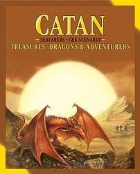 Catan: Treasures, Dragons & Adventurers spel doos box Spellenbunker.nl