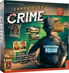 Chronicles of Crime Bordspel