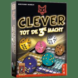 Clever tot de 3e macht 999 Games Dobbelspel