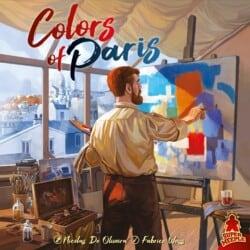 Colors of Paris spel doos box Spellenbunker.nl