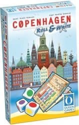 Copenhagen - Roll & Write Bordspel