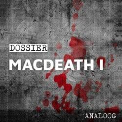 Crimibox: Dossier Macdeath – Episode I spel doos box Spellenbunker.nl