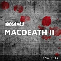 Crimibox: Dossier Macdeath – Episode II spel doos box Spellenbunker.nl