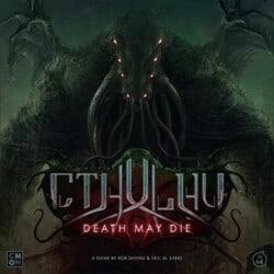 Cthulhu: Death May Die spel doos box Spellenbunker.nl