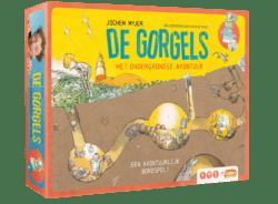 De Gorgels: het ondergrondse avontuur spel doos box Spellenbunker.nl