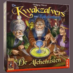 De Kwakzalvers van Kakelenburg- De Alchemisten Uitbreiding 999 Games