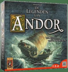 De Legenden van Andor- De Reis naar het Noorden Uitbreiding Bordspel 999 Games